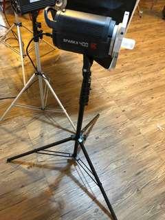金貝攝影燈SPARK II 400W影室閃光燈補光燈淘寶照相燈人像攝影棚