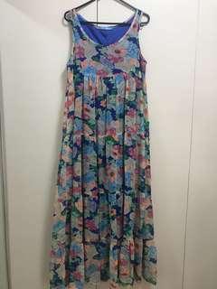 Kashieca Floral Maxi Dress