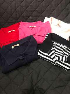 TAKE ALL Herbench Stretch Polo shirts