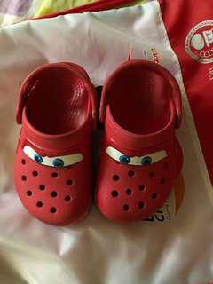 Mcqueen crocs with lights
