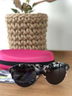 EGG Optical Turtle Shell Sunglasses