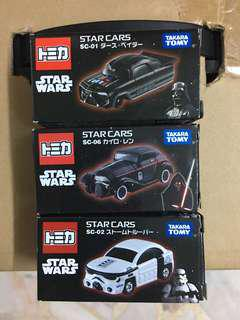 Star Wars Tomica Vehicles Cars