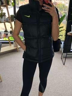 Nike Women's Black Puffer Vest