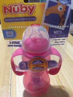 Nuby Standard Neck Bottle to Cup