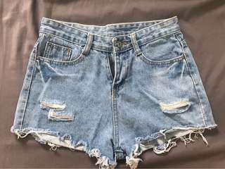 HW Maong shorts