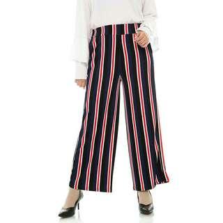 Sale 65% celana kulot navy mybamus shabay mix kullote murah berkualitas branded