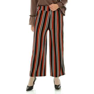 Sale 65% celana kulot coklat mybamus shabay mix kullote brown elegan berkualitas branded super murah
