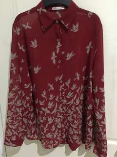 Preloved | Bird Shirt - No Brand