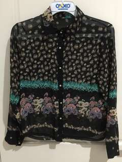 Preloved Floral Shirt | No Brand