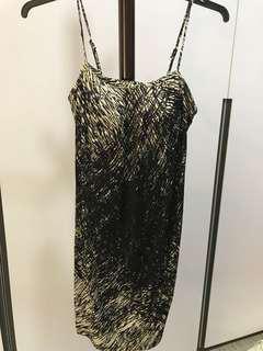 Forever 21 padded spaghetti strapped dress