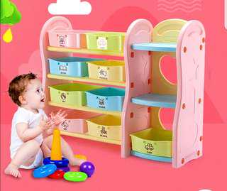 Storage for toys and books