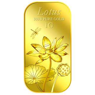 🚚 Singapore Pure Gold Bar: 1g Lotus Gold Bar