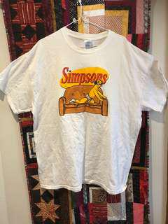 v rare simpsons / seinfeld crossover tee size XL