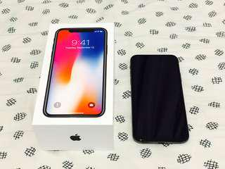 99% New iPhone X Space Grey 64GB 香港行貨