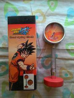 Dragon Ball Z Head Spring Clock