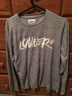 Lower long sleeve size M