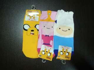 [FLASH SALE] Adventure Time Sock (3 for $10.00)