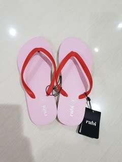 New rubi slipper / sandal jepit