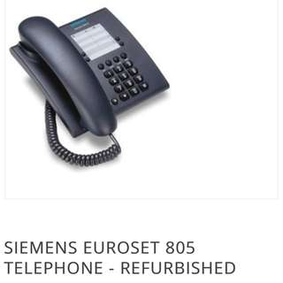 House Telephone Landline SIEMENS EUROSET 805 TELEPHONE