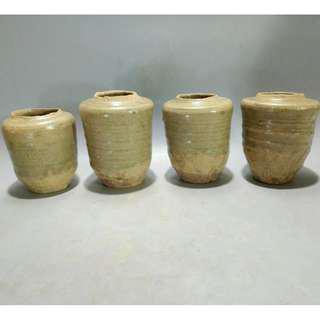 越窯青瓷小罐 600元個