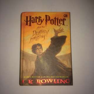 Novel Harry potter and the deathly hallows terjemahan
