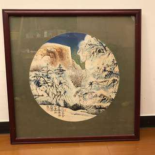 🚚 爺爺收藏的山水畫
