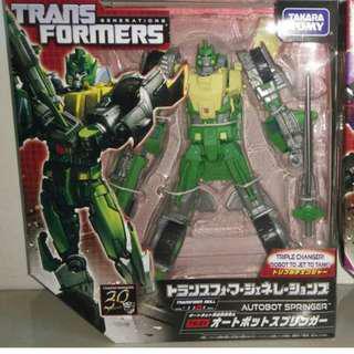 Transformers Generations Springer & Blitzwing