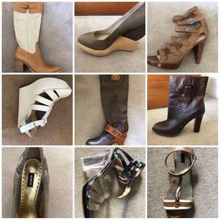 Shoes/heels/boots/flat size 8-9