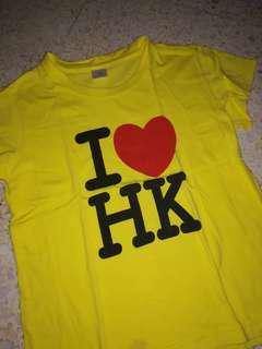 T-shirt Souvenir T from HK