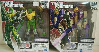 Transformers hasbo Springer & Blitzwing