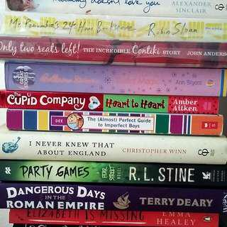 10 Books - Love Life Humour Story Encounters