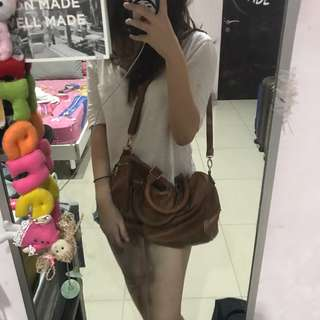Bershka Brown Bag