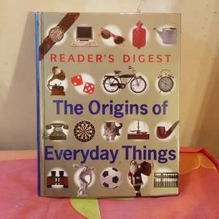 Reader's Digest: The Origins of Everyday Things