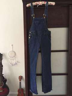 Bootcut Overall Jeans
