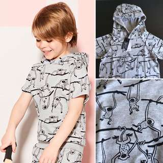[readystock] Mothercare x My K short sleeves hoodie (7-8yrs)
