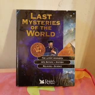 Reader's Digest: Last Mysteries of the World