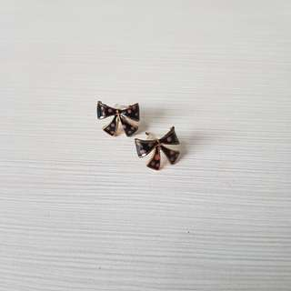 RIBBON EARRINGS (Aksesoris Anting Import Bangkok Thailand BKK Accessories)