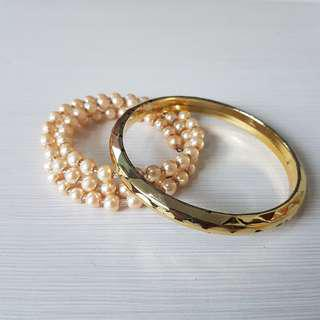 BUY 1 GET 1 FREE!! GELANG PESTA CANTIK (Aksesoris Wanita Woman Accessories Bracelets)
