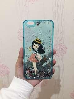 Blue Girl iPhone 6+ Hardcase
