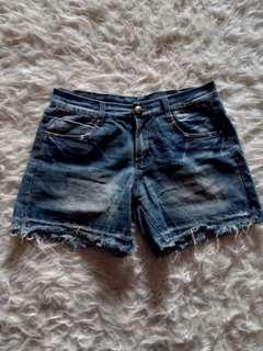 Hotpants / short pants denim