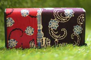 Dompet wanita batik asli sumatra