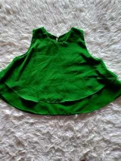 Tanktop / atasan hijau