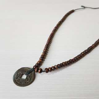 COIN FASHION NECKLACE (Aksesoris Kalung)