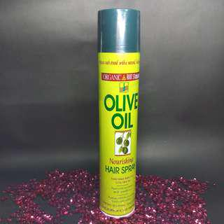 Organic Root Stimulator Olive Oil Nourishing Hair Spray