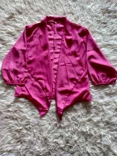 Bolero loose pink