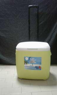 Cooler box 28L green color