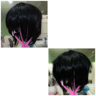 Cosplay Wig - Black short wig