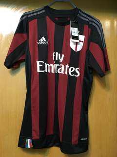 Adidas AC米蘭2015/6主場球衣(連印字)