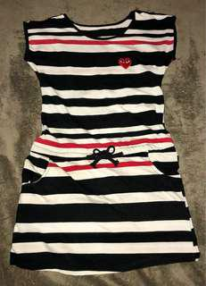 COMME DES GARCONS STRIPES REPLICA DRESS