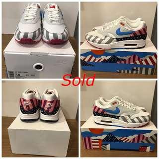 3e3deaa6b36 Parra x Nike AIR MAX 1 (US 7.5   US 10.5  US 13)
